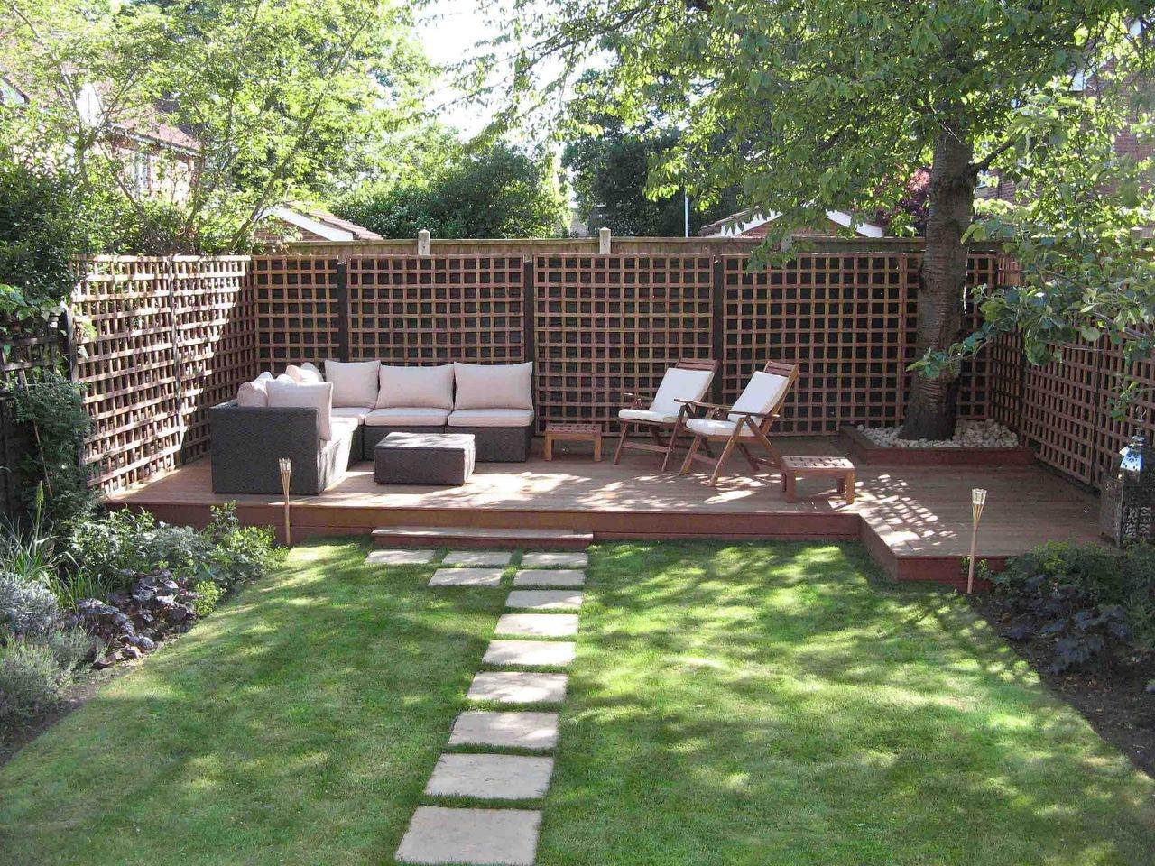 Как недорого сделать двор в частном доме